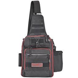 Fiblink Waterproof Sports Single Shoulder Fishing Tackle Bag