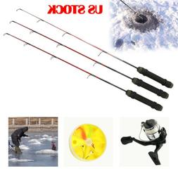 Winter Fishing Rods Pocket Ice Fishing Rod Reels Travel Spin