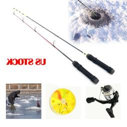 Winter Ice Fishing Rod Reel Como Tackle Ultra-light Sport Re