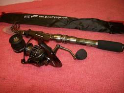 Sougayilang YX4000 Spinning Fishing Rod & Reel Portable Tele