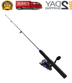 Zebco Dock Demon Spinning Reel and Fishing Rod Combo - NEW -