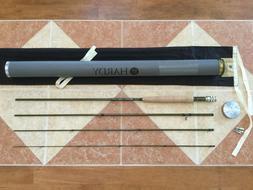 Hardy Zephrus 9ft 5wt 4pc 590-4 905 fly fishing rod w/tube