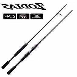 Shimano Zodias 1610ML-2 Finesse Baitcasting Fishing Rod Ci4+